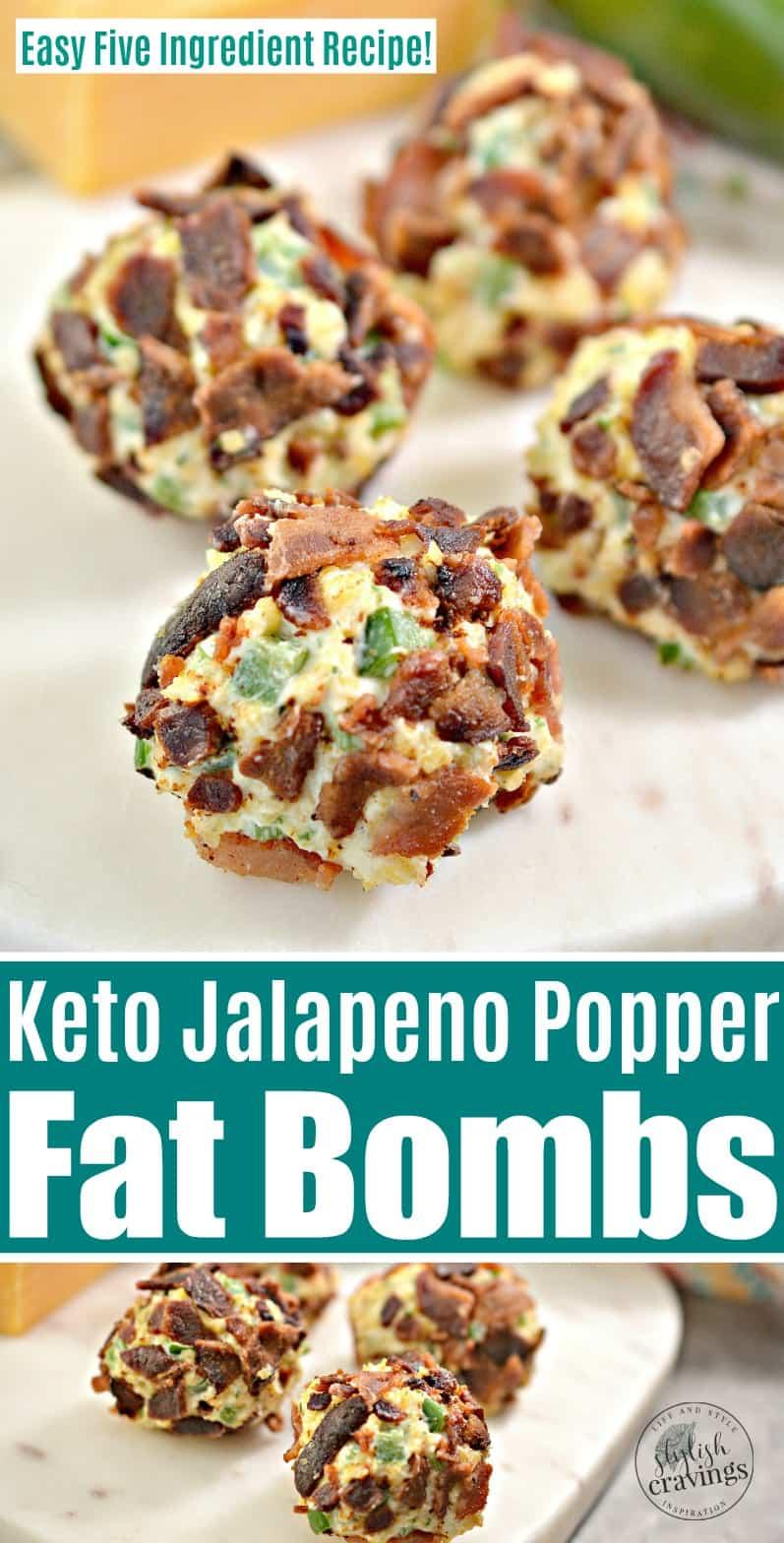 Keto Jalapeno Popper Fat Bombs