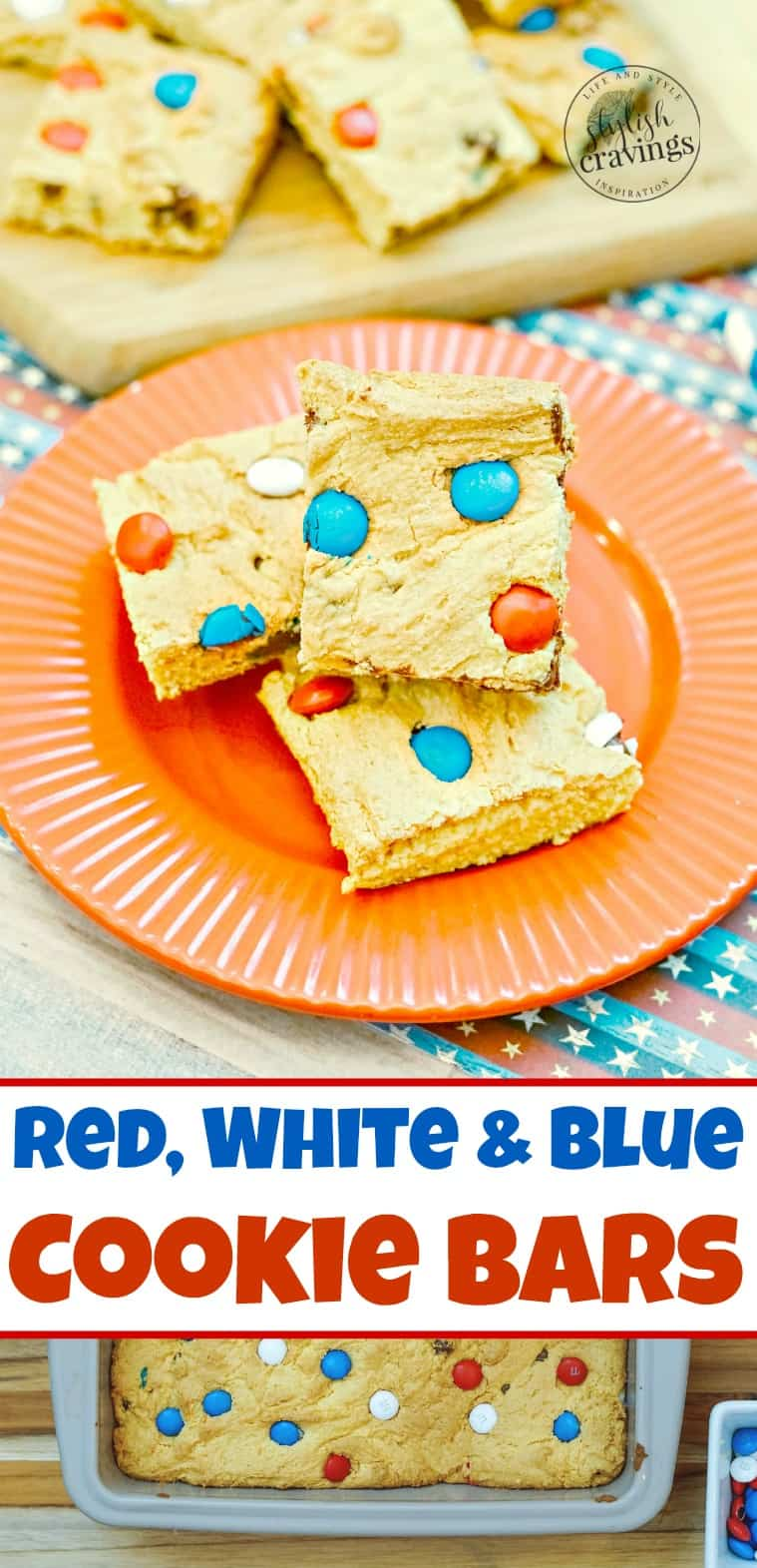 Red, White & Blue Cookie