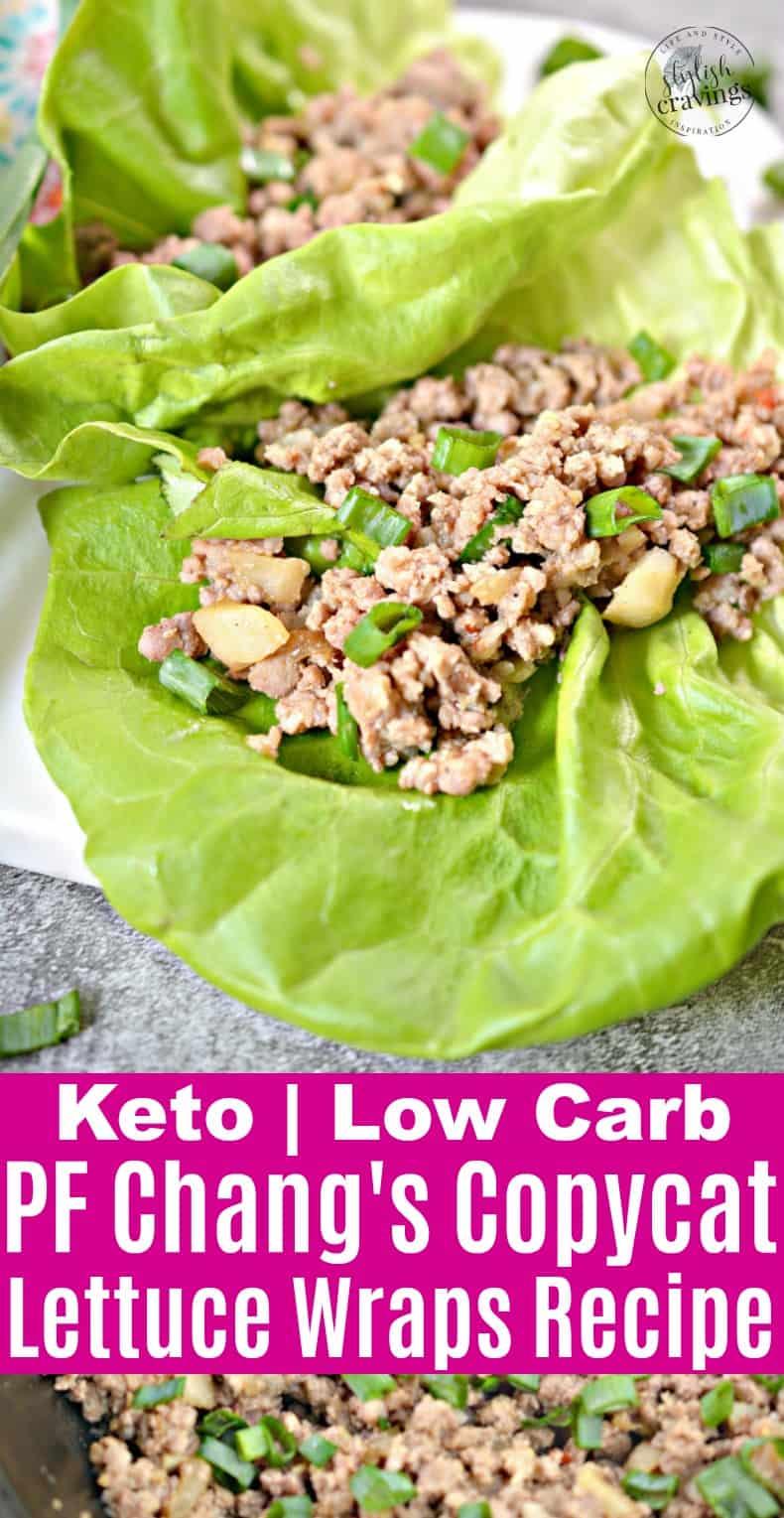 Keto PF Chang's Lettuce Wraps Copycat Recipe