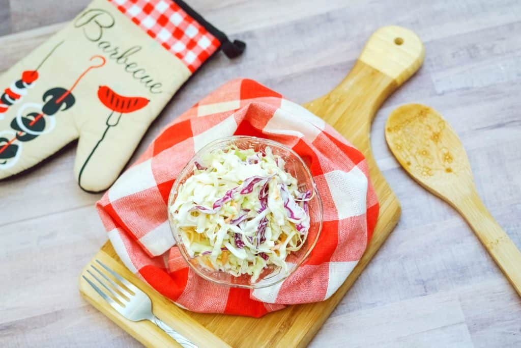 Easy Keto Coleslaw Recipe