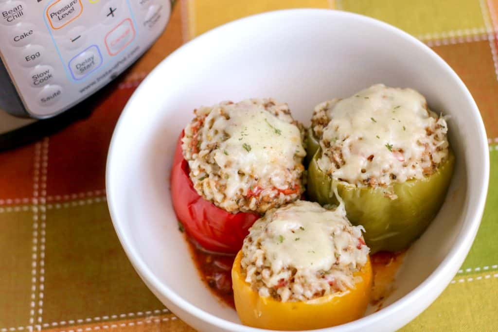 Instant Pot Stuffed Peppers