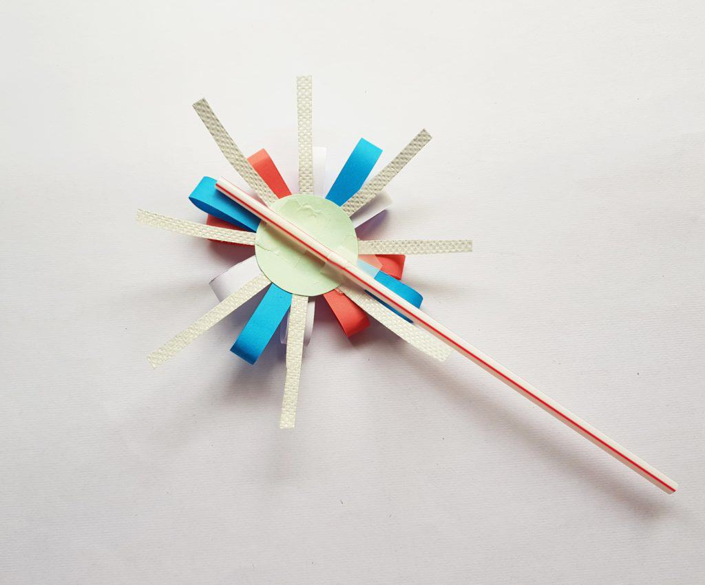 Paper Firework Craft - Stylish Cravings Crafts For Kids