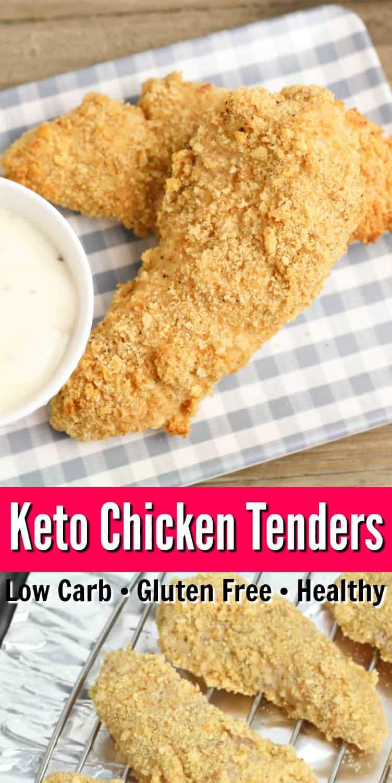 Easy Keto Chicken Tenders
