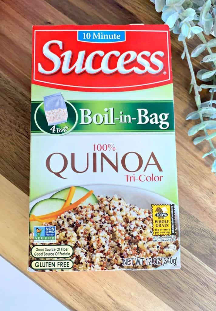 Warm Mushroom Spinach Quinoa Salad