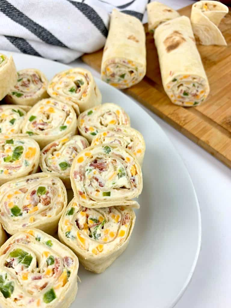 Jalapeno Poppers Pinwheels - Perfect On The Go Lunch!