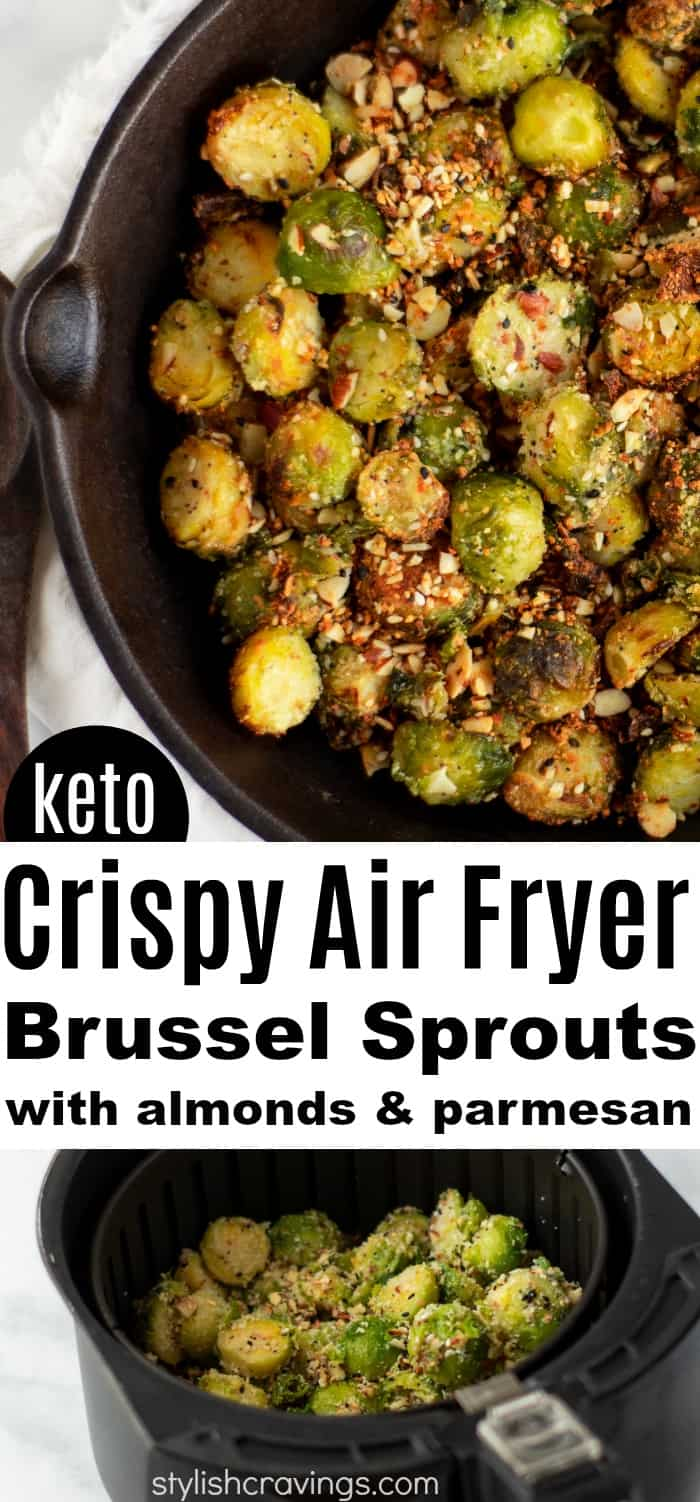 Crispy Air Fryer Parmesan Brussel Sprouts