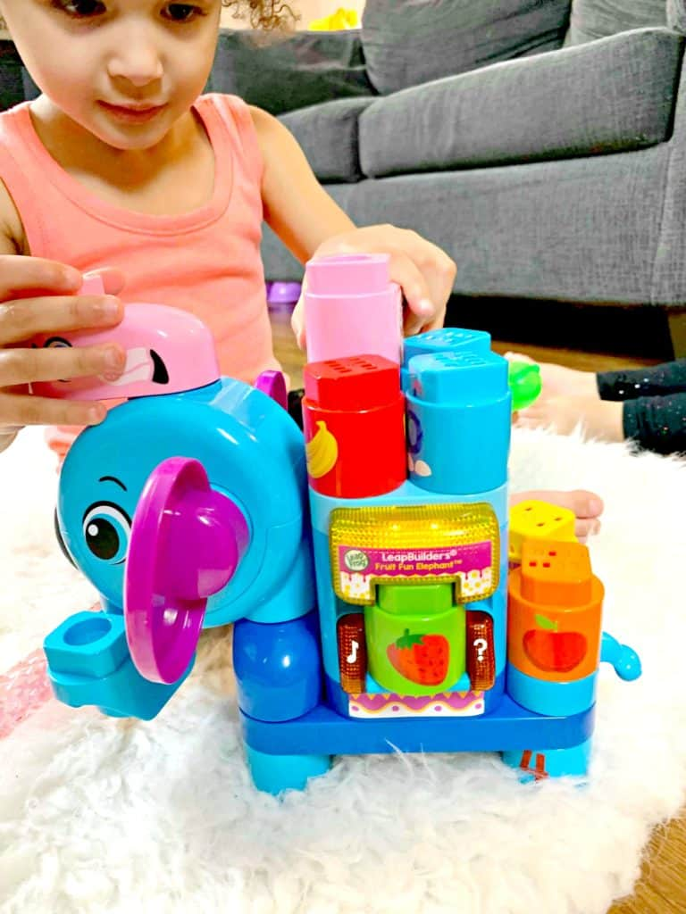 Building Toy Fun With LeapFrog® LeapBuilders® Fruit Fun Elephant™