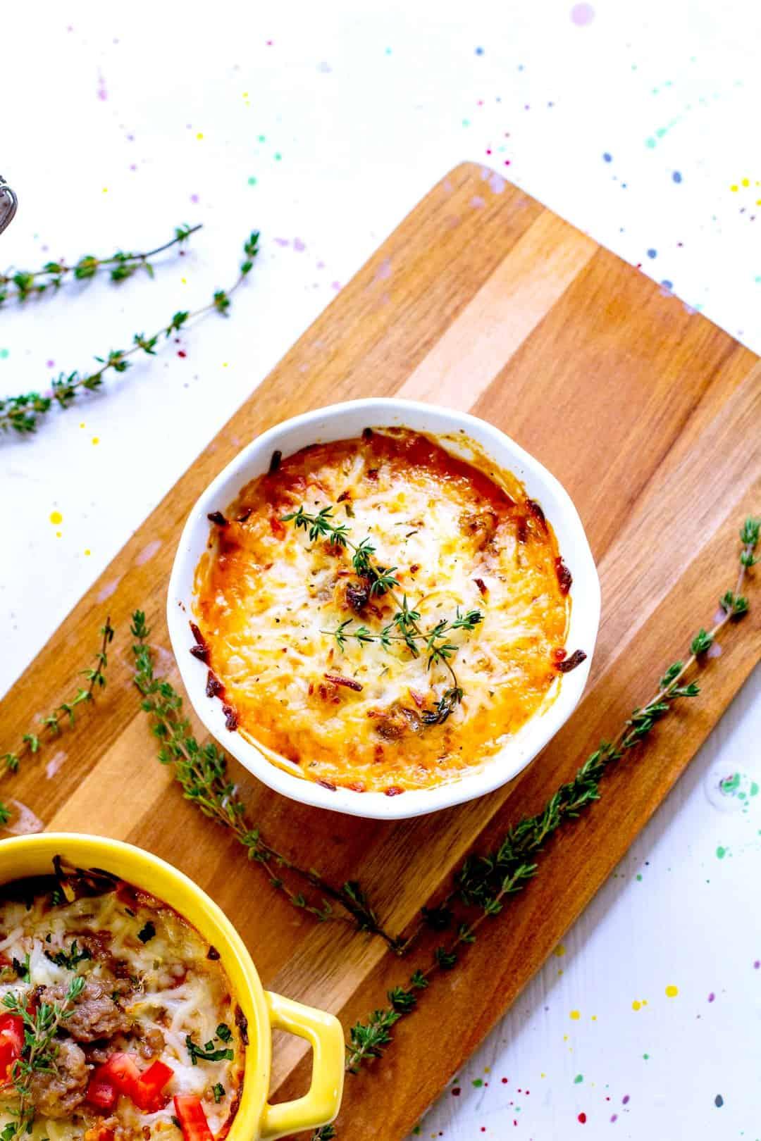 Keto Lasagna Bowl