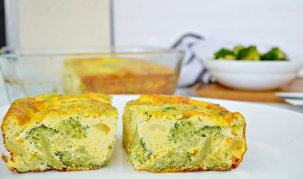 Keto Broccoli Egg Bake