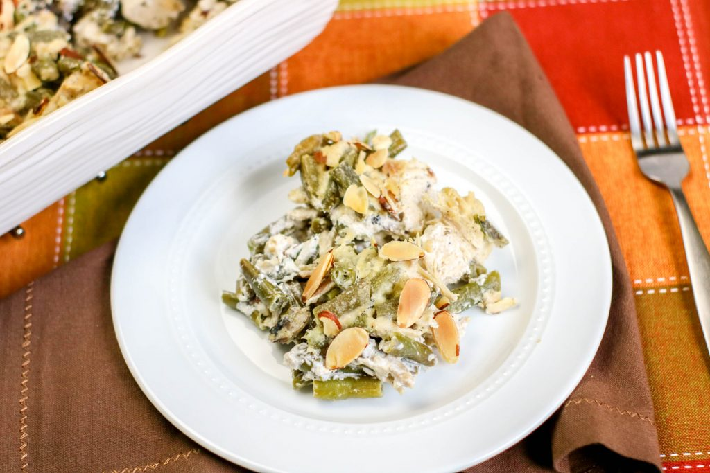 Low Carb Green Bean Chicken Casserole