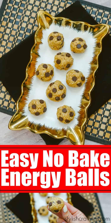 Easy No Bake Energy Balls