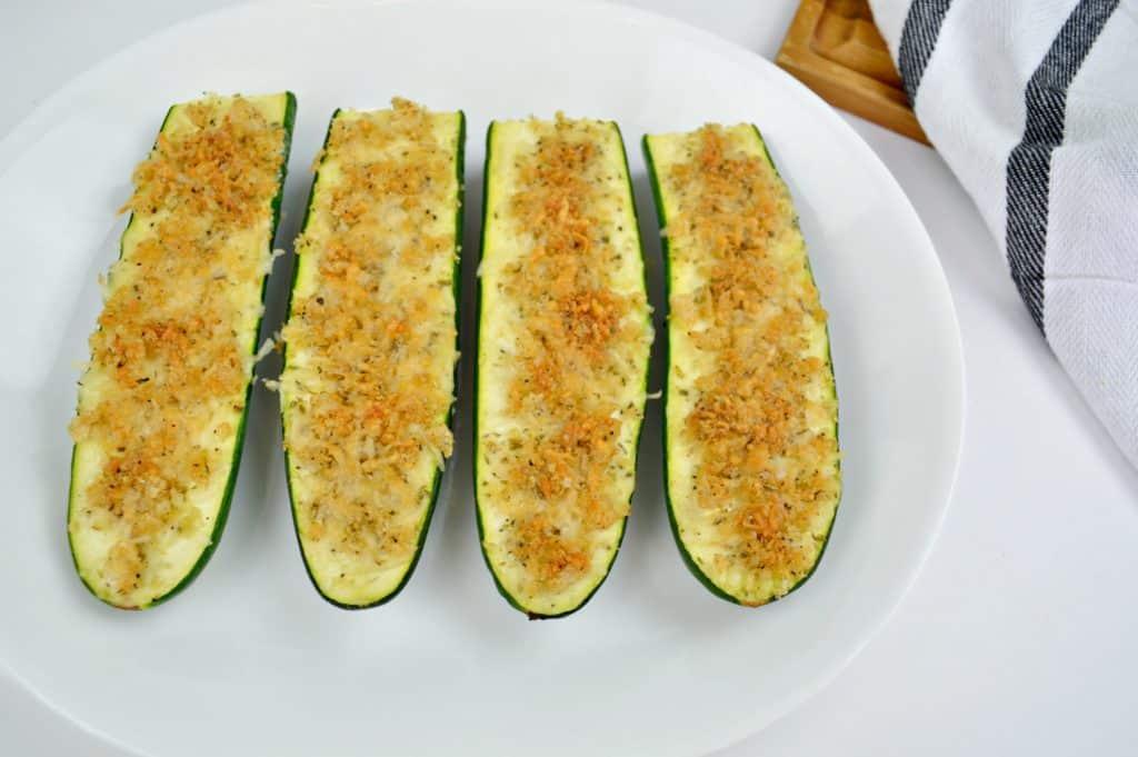 Keto Parmesan Zucchini Sticks