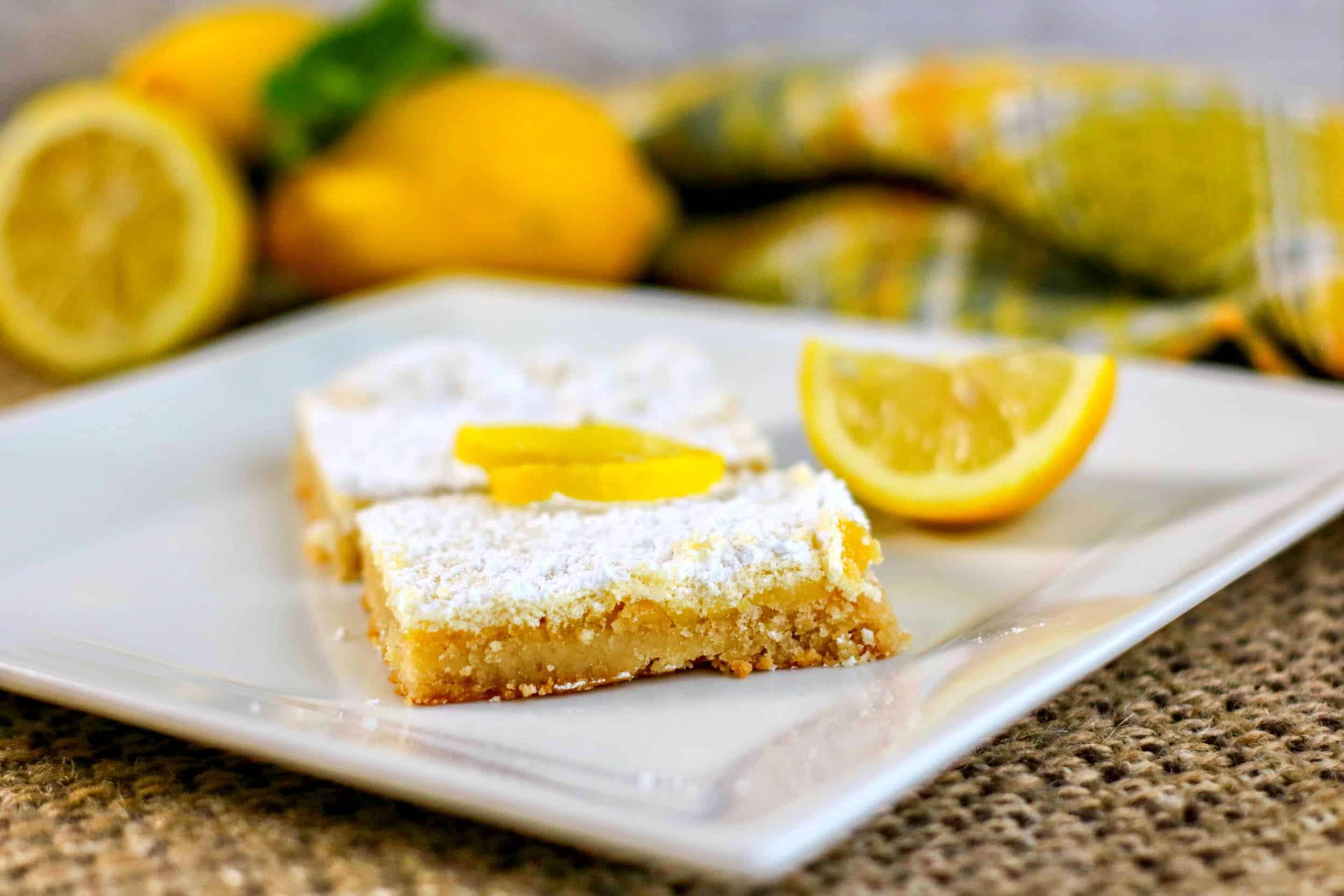 Low Carb Lemon Bars