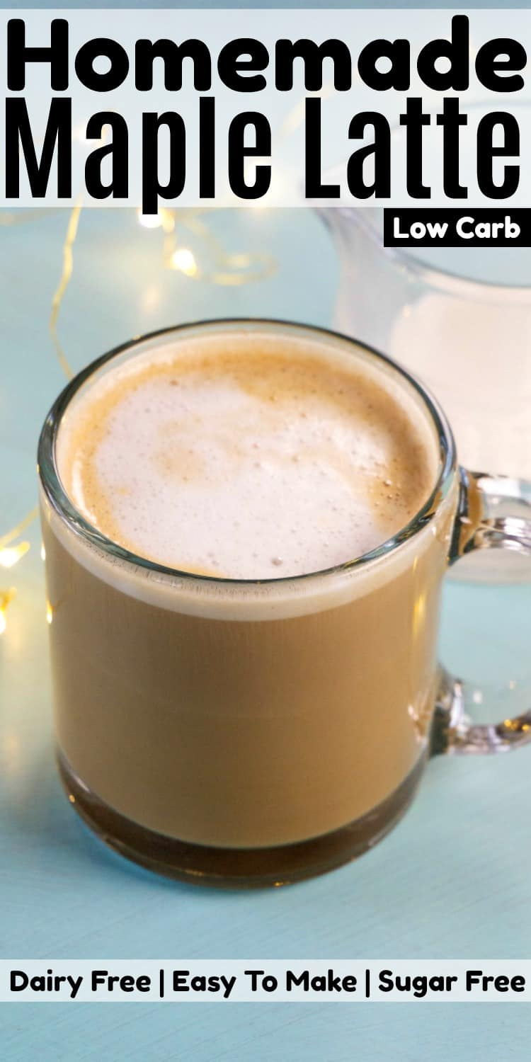 Homemade Maple Latte