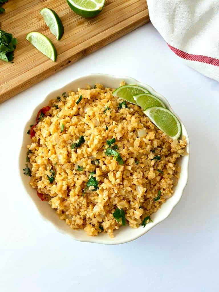 Keto Mexican Cauliflower Rice