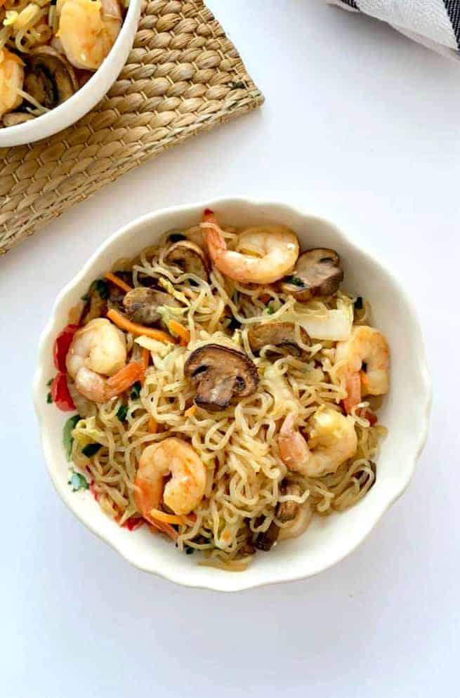Keto Shrimp Lo Mein