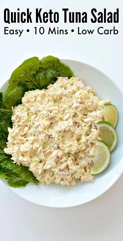Quick Keto Tuna Salad