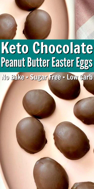 Keto Chocolate Easter Eggs