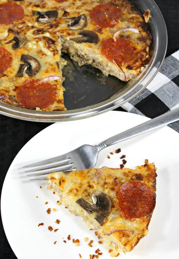 Keto Pizza Frittata Recipe