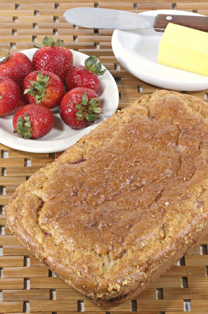Easy Keto Strawberry Bread Recipe