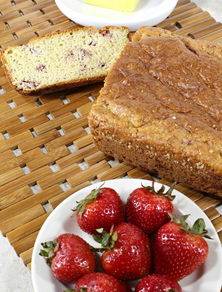 Easy Keto Strawberry Bread Recipe