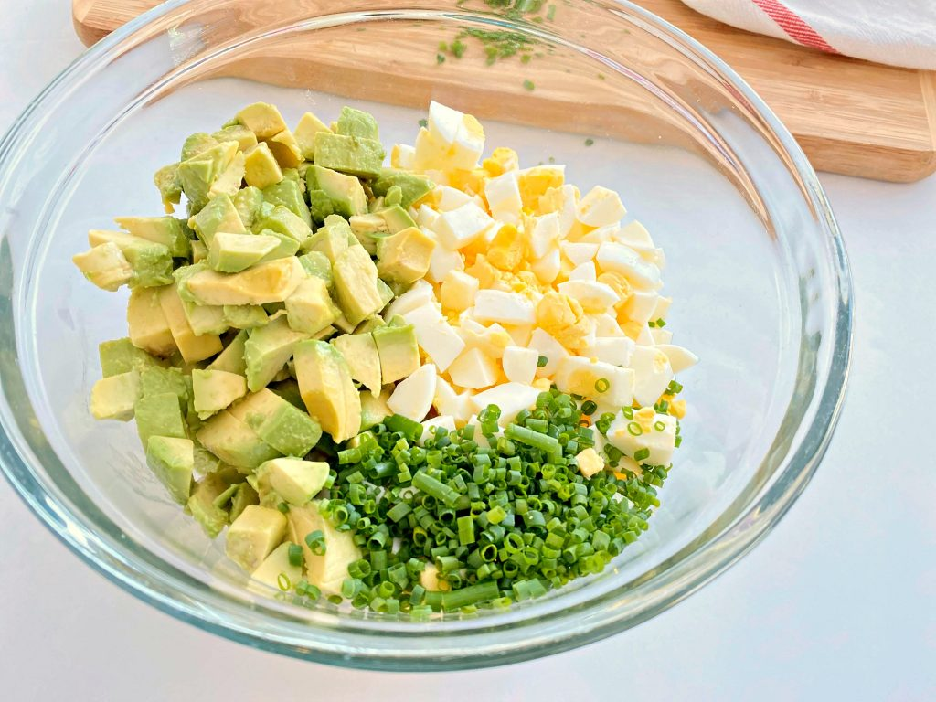 Keto Avocado Egg Salad Recipe