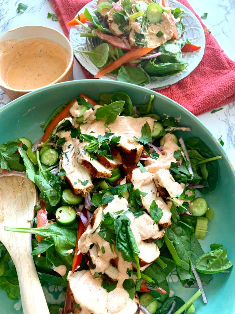 Low Carb Buffalo Chicken Salad Recipe