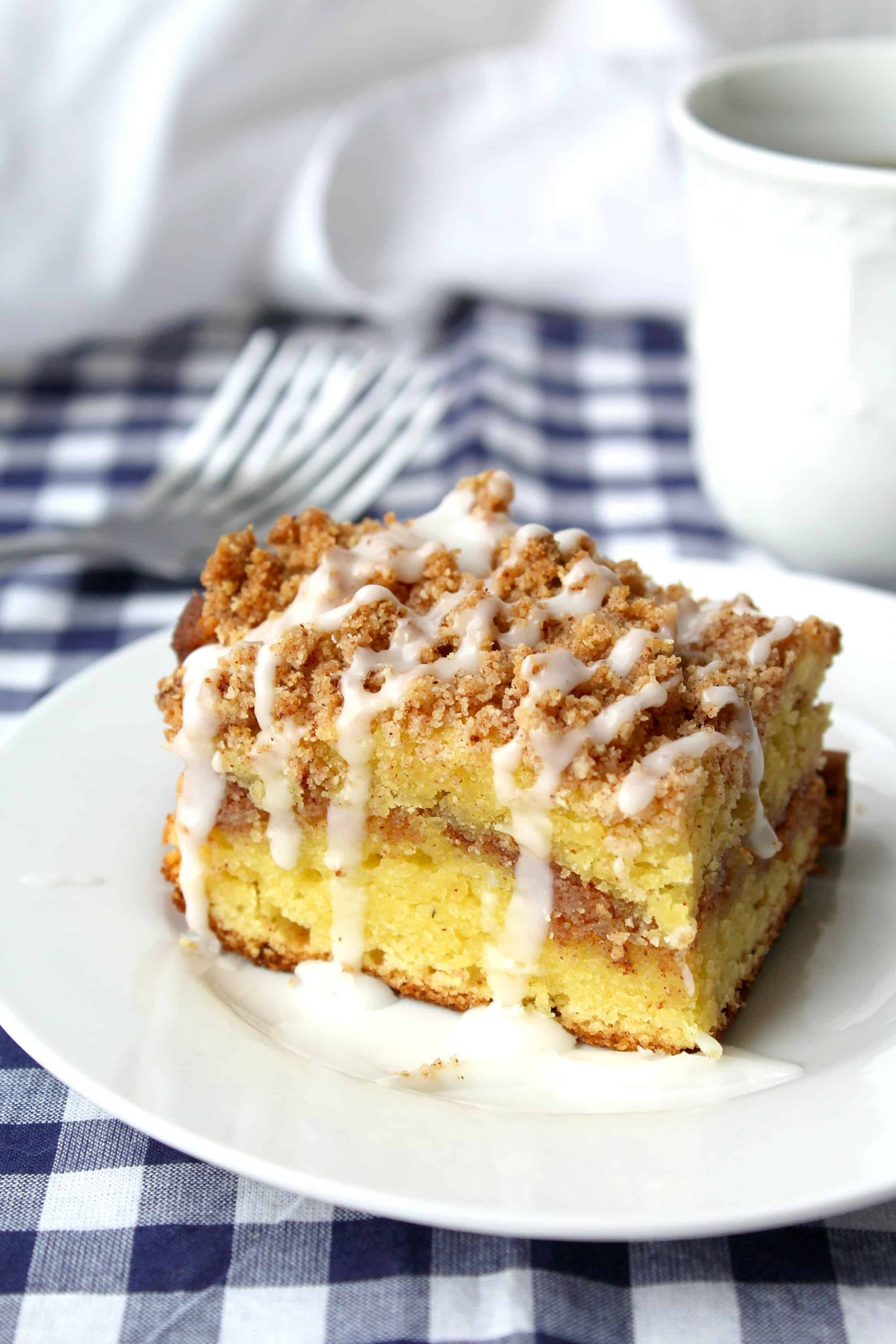 Keto Coffee Cake Recipe Only 3 Net Carbs Per Slice