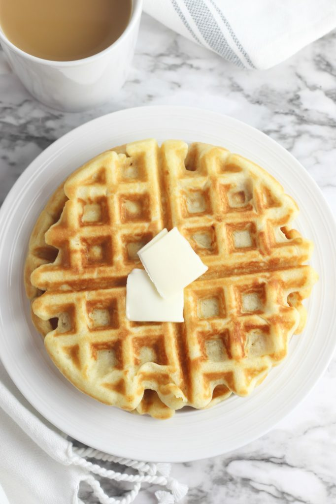 Easy Low Carb Belgian Waffles