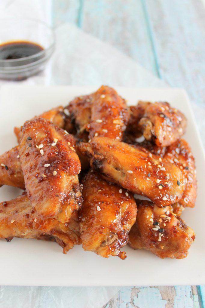 Keto Teriyaki Chicken Wings Recipe