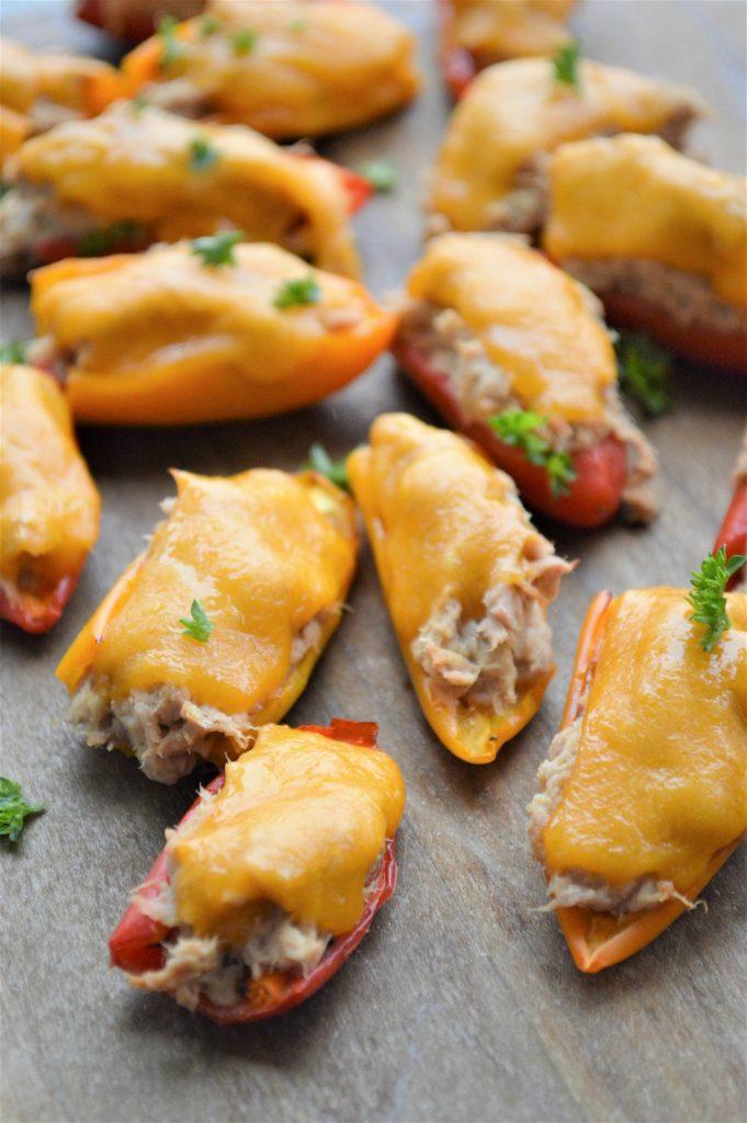 Keto Tuna Melt Poppers Recipe