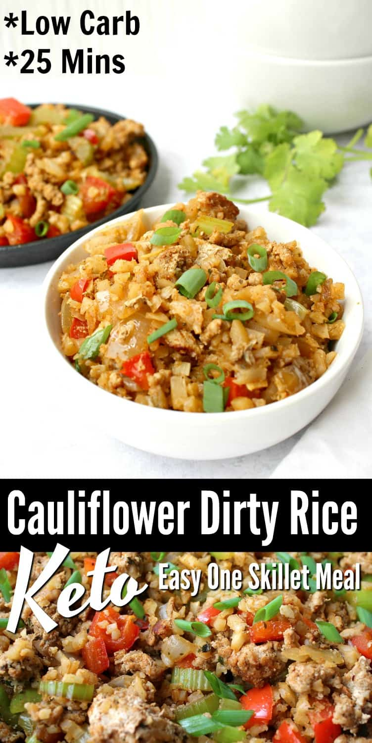 Keto Dirty Cauliflower Rice Recipe