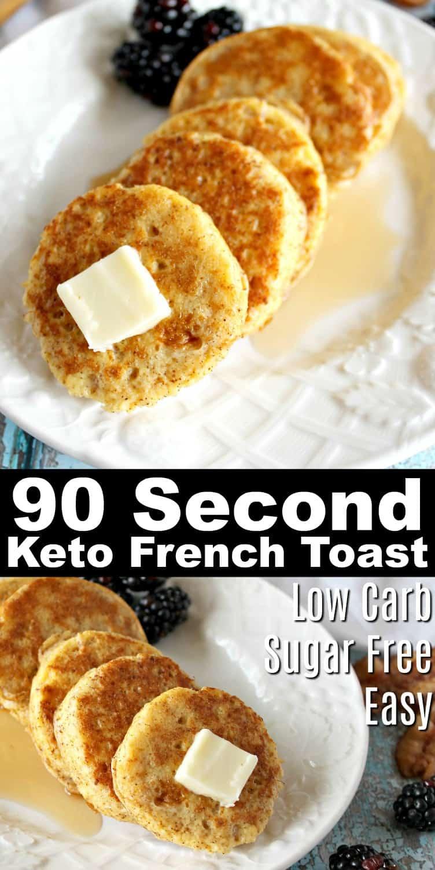 Keto French Toast Recipe