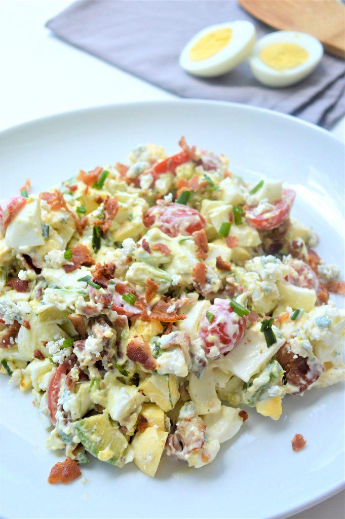 Keto Cobb Egg Salad