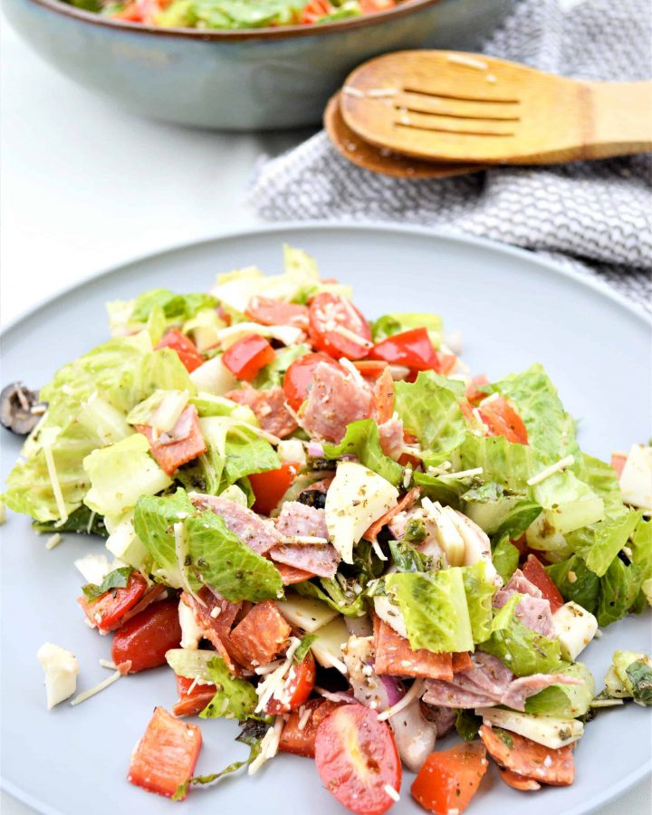 Low Carb Antipasto Salad Recipe
