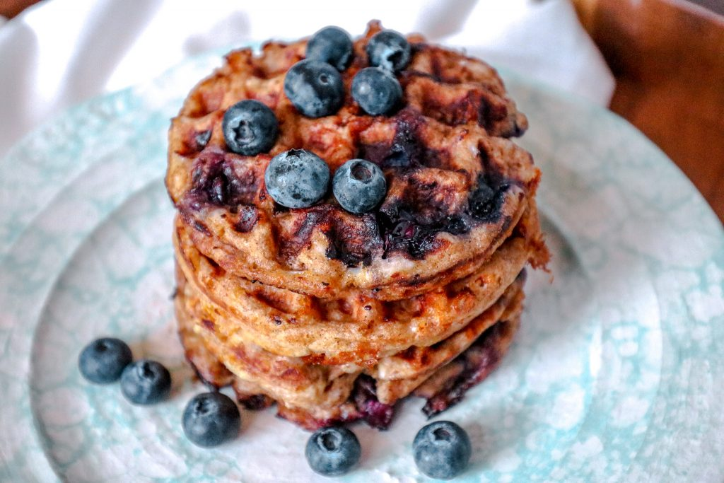 Keto Blueberry Chaffle Recipe