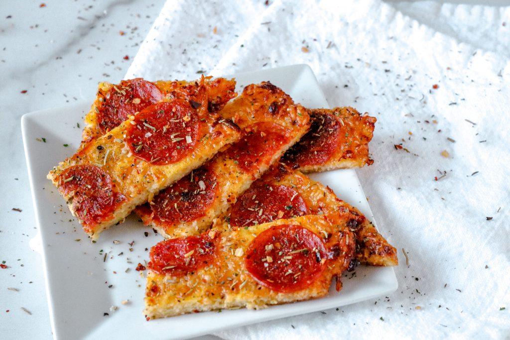 Low Carb Pizza Breadsticks Recipe