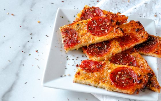 Low Carb Pizza Breadsticks Recipe