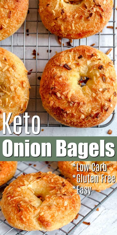 Keto Onion Bagel Recipe