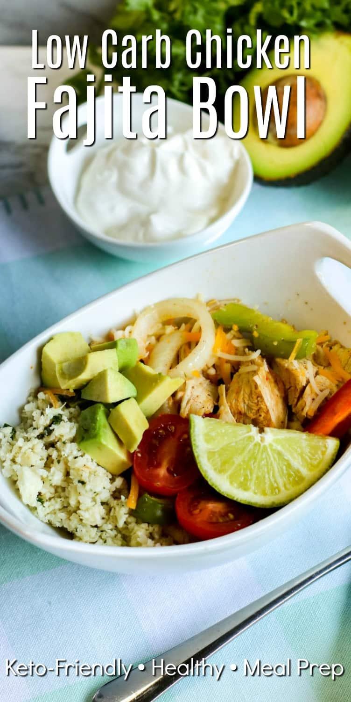 Low Carb Fajita Bowl Recipe
