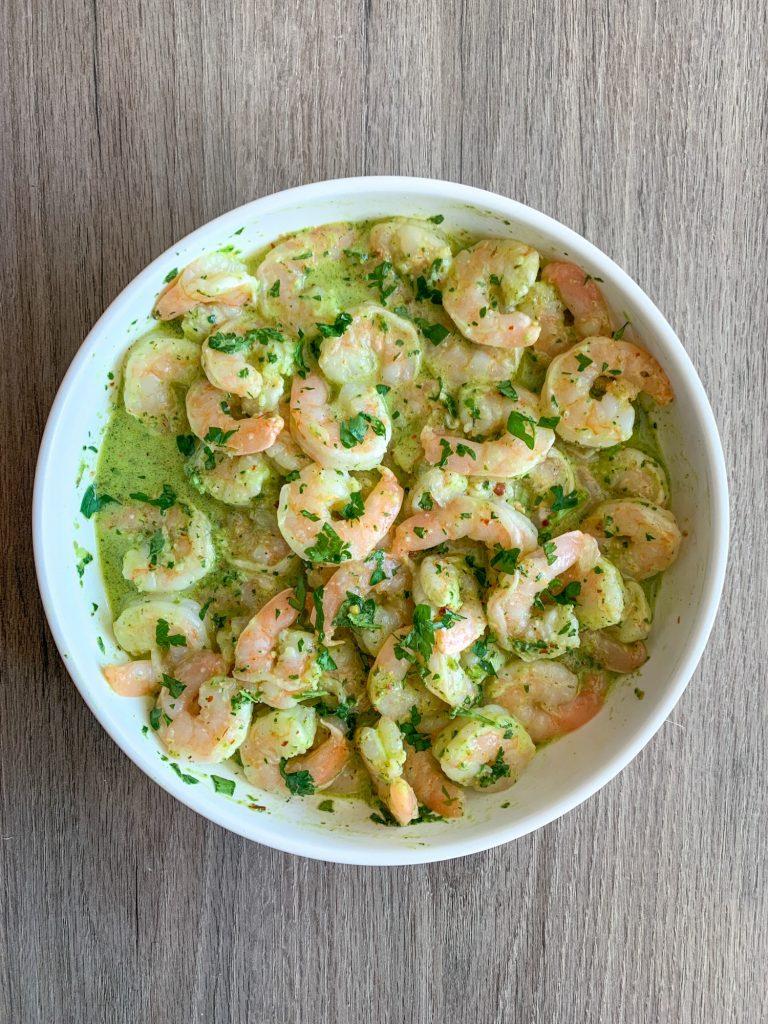 Tasty Keto Grilled Shrimp Chimichurri Recipe