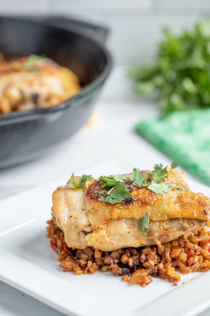 Low Carb Arroz Con Pollo Recipe