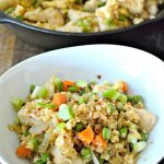 Keto Cauliflower Chicken Fried Rice