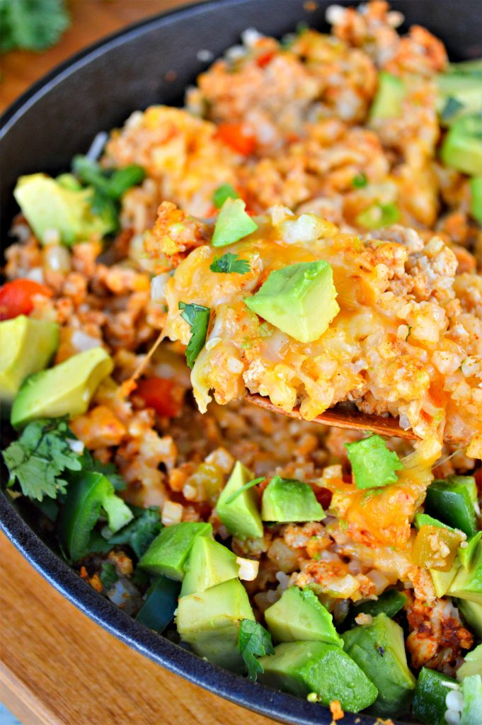 Keto Turkey Mexican Skillet