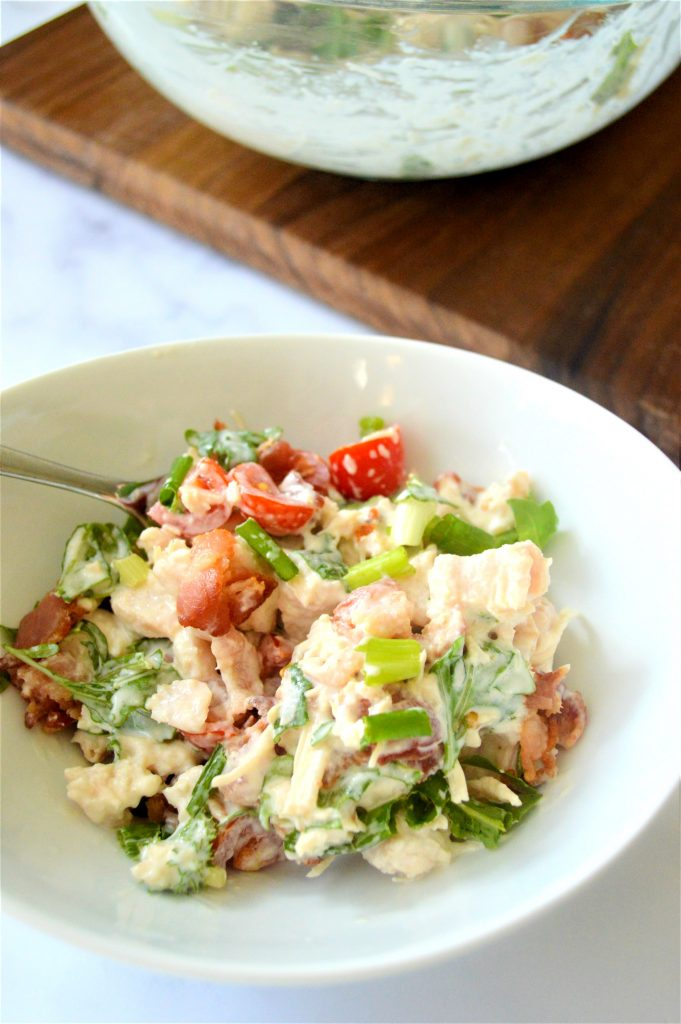 Keto BLT Chicken Salad Recipe