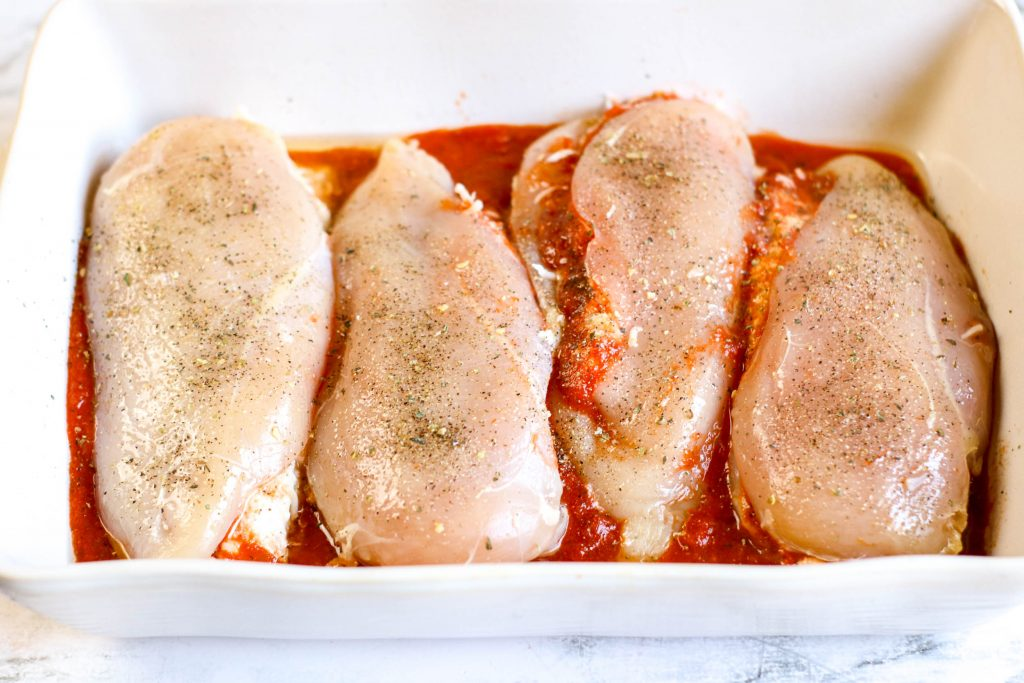 Keto Lasagna Stuffed Chicken Recipe