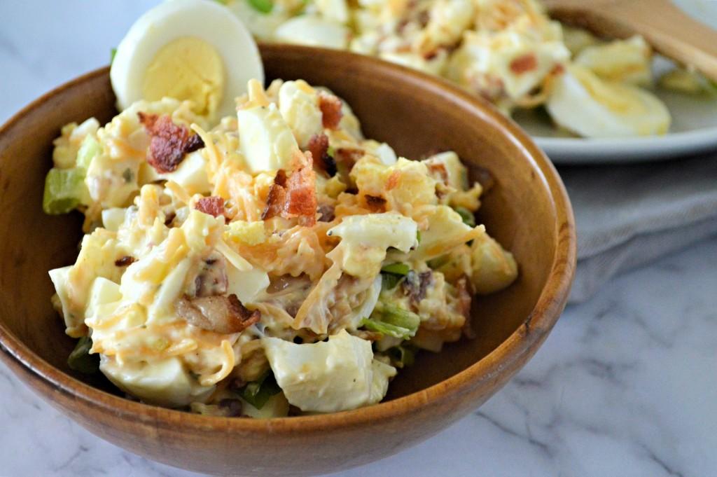 Bacon Ranch Egg Salad Recipe