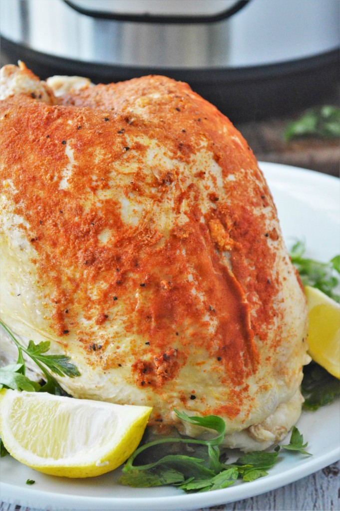 Lemon Garlic Butter Turkey Breast