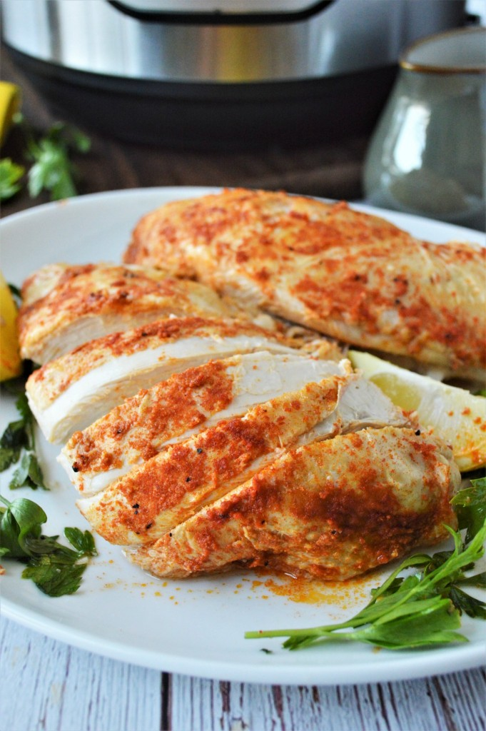 Lemon Garlic Butter Turkey Breast