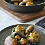Keto Garlic Butter Mushrooms Recipe